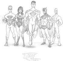 Crime Syndicate of America by Mbecks14
