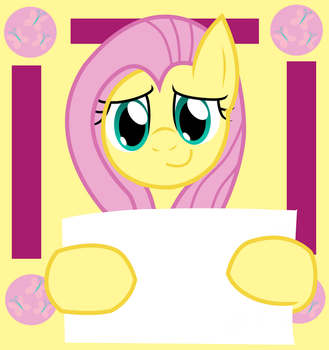 Fluttershy says ....... by DhilieDale