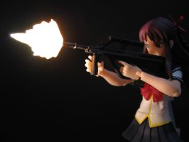 figma - Makina with Steyr AUG by TheLOL