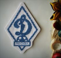 FC Dinamo Moscow Magnet by SoulcrackeD