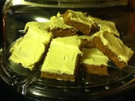 Pumpkin bars by Deathbypuddle
