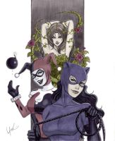 Gotham Girls by Protokitty