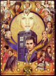 all the  doctor's and companions-clash #1 by sivilonicthehedgehog