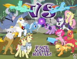 Face Your Rival! by StallonBecket