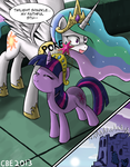 My faithful student by CrimsonBugEye
