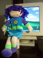 My doll, Noodle by jengy