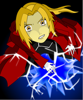 Edward The Fullmetal Alchemist by happyzuko