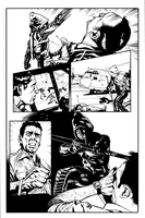 Arrow 34 pg 5 inks by JosephLSilver