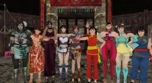 Chinese New Year Babes by Stylistic86