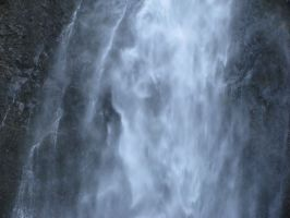 Close-up of the falls by Cyberpriest
