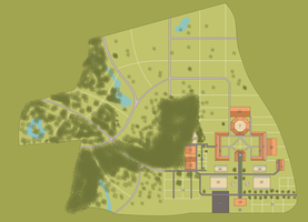 Angelus Estate - Map by mapal