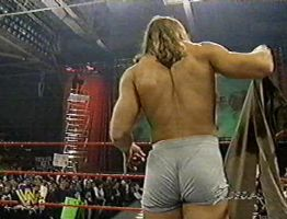 Shawn Michaels in Boxers by englishxmuffin