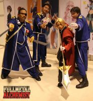 Full Metal Alchemist Group by exc-ELLEN-t