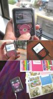 iPod Nano 3G Skin Bear by paperplane-products