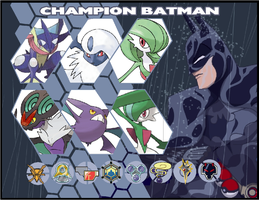 Pokemon Trainer Card - Batman by Tyrranux