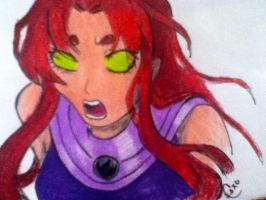 Starfire by chlover95