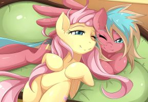 Flutter Cuddle by JinZhan