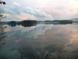 Reflected by karacature