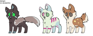 canine adopts 1 (1 left) by dendemille