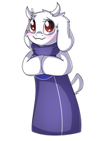 Sweet Toriel by SoundwavePie