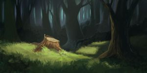deep forest by Ardariel