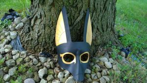 Anubis Leather Mask by A-S-Thompson