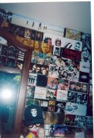 A Small Piece Of My Music Wall by Aeoess