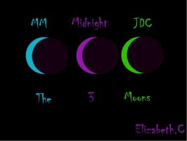 The 3 Moons by XMidnightX1