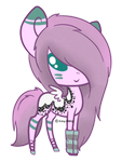 Pony Adopt: OPEN [60 Points] by Key-Ring