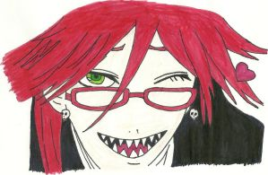 Grell Sutcliff by Shadowismrevilgecko