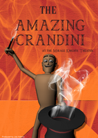 The Amazing Crandini Poster by gameover89
