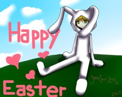Happy Easter by yaoi-girl-inu
