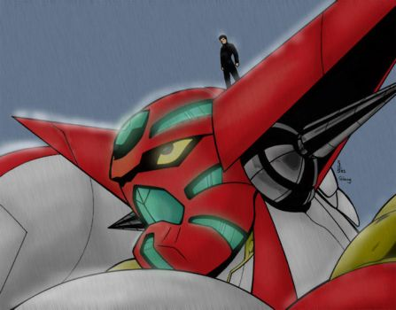 Shin Getter 1 by GlauG