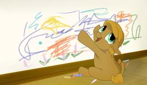 Little artist. by grethzky