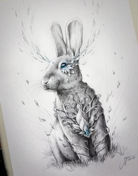 Rabbit Soul by JoJoesArt