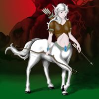 Centaur WIP by Rick-Lilley