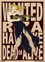WANTED: Riza Hawkeye by Hyperthia
