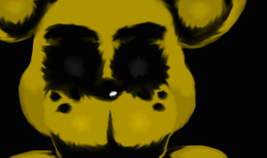 ''Death by golden Freddy'' back ground by Spazzygamergirl