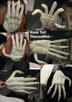 Quadsuit tail hand by ThoronWild