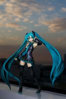 Miku Hatsune at Twilight by jrjs