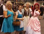 WC15-Disney Princesses by moonymonster