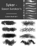 Custom Brush Set 1 by Syker-SaxonSurokov