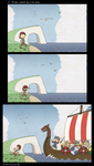 Oh those days at the seaside.. by Limeknight