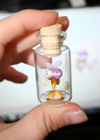 Bottled mosquito by Catigma