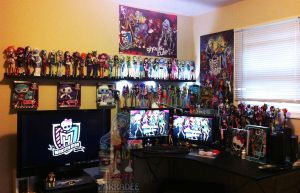 MY MONSTER HIGH OFFICE OF EPICNESS!!!! by Chibi-Warmonger