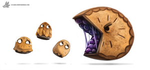 Day 844# Pi Day by Cryptid-Creations