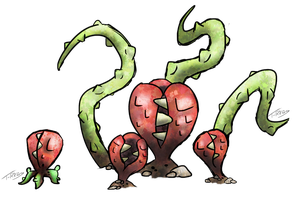 Hydnora Africana Fakemon by T-Reqs