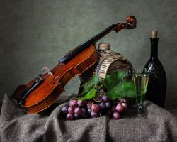 Wine and Music by Daykiney