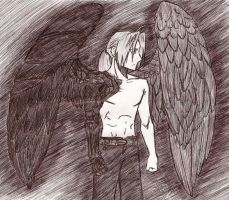 Edward With Wings by ajbluesox