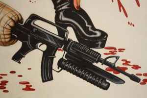 Planet Terror, Cherry detail by cimmerianwillow